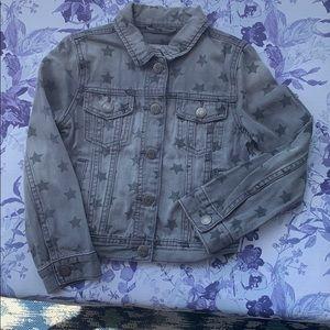 Gap kids denim printed jacket